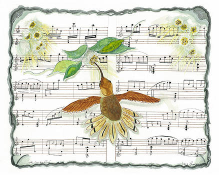 1 of 2 - Natures Symphony-The Conductor by Joy Braverman