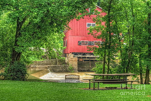 Old Indian Mill by Pamela Baker