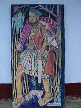 Painting by Ngwanyam Adolf Loraterr