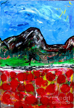 Pic Expression Poppies by David Abse