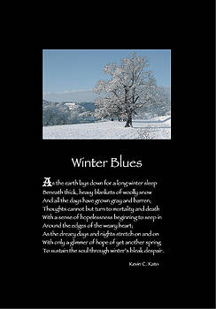 Poster Poem - Winter Blues by Poetic Expressions