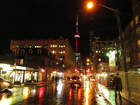 Alfred Ng - rainy night in Toronto