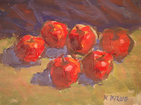 Red Apples by Ken Krug
