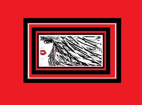 Red Lipstick by Mary Jo Scercy