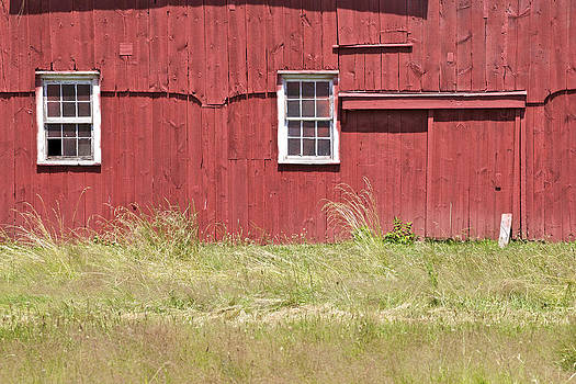 David Letts - Red Weathered Farm Barn of New Jersey
