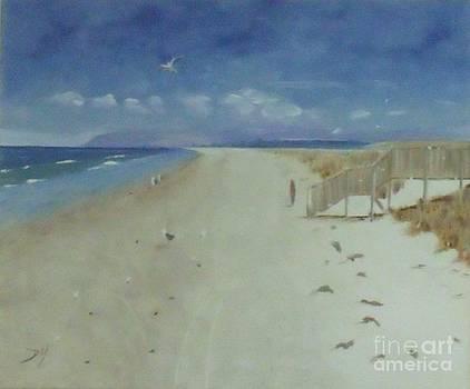 Ruakaka Beach by Debra Piro