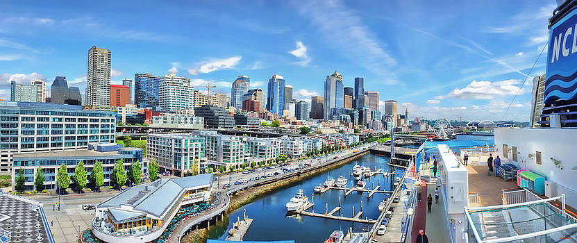 Seattle by SM Shahrokni