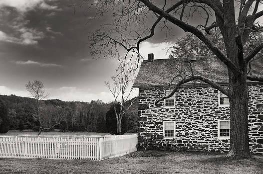 Mick Burkey - Stone Farmhouse