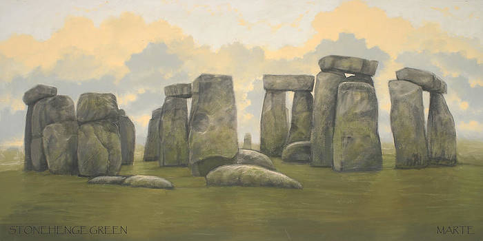 Stonehenge Green by Marte Thompson