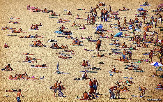 Sunday at Bondi Beach by Christoph Mueller