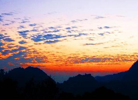 Sun's Farewell by Jayvardhan Kandpal