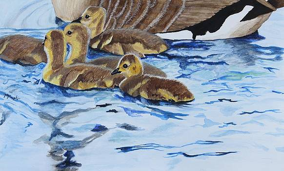 Swimming with Mom by Jody Neugebauer