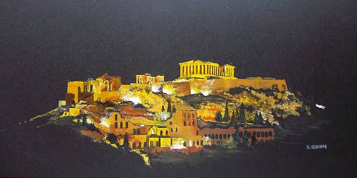 The Acropolis by Samir Sokhn