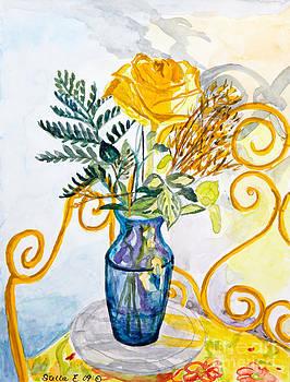 Stella Sherman - The Blue Vase