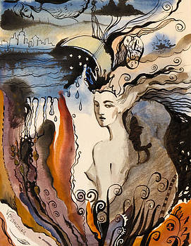 The Night Is Too Short by Valentina Plishchina