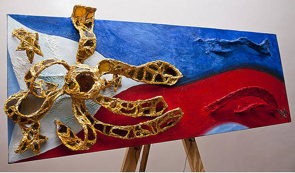 The Philippine Flag by Yvette Co