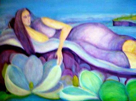 The Siren Sings In Lavender Dreams by Margaret Pirrouette
