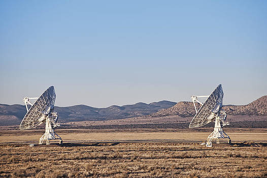 The Vla At Socorro Is One Of The Worlds by Dave and Les Jacobs