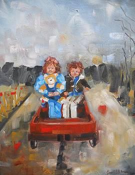 The Wagon Ride by Brandi  Hickman