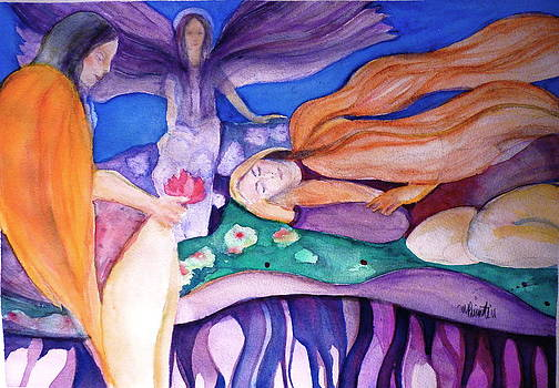Three Angels by Margaret Pirrouette