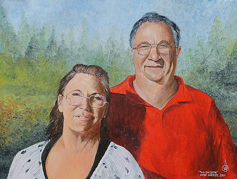 Tom And Beth by Larry Whitler