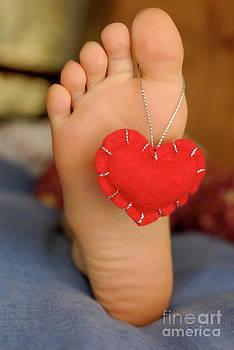 Sami Sarkis - Valentine heart hanging on girl