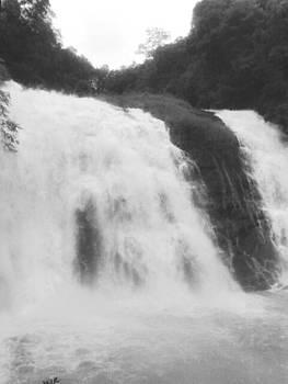 Water fall by Prashant Upadhyay