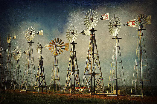 Windmill Soldiers by Terry Hollensworth-Rutledge