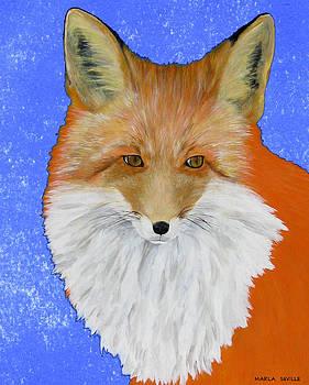 Winter Coat by Marla Saville
