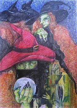 Witch by Brigitte Hintner