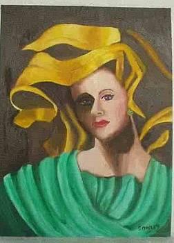 Yellow  Chapeau by John Sowley