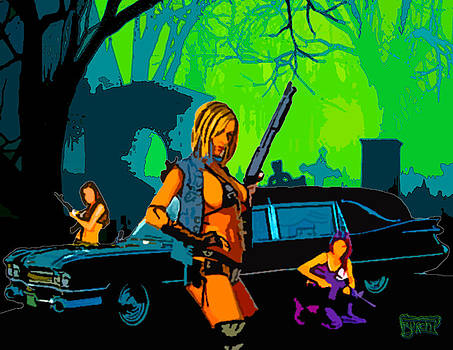 Zombie Hunting Wet Dream by Steven Burch