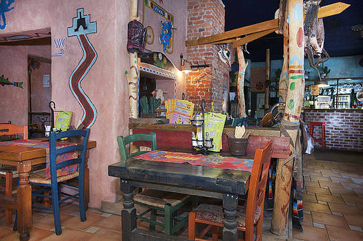 A Tex Mex Restaurant In The Town by Jaak Nilson