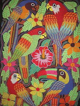 Birds of Panama by Kathleen Othon