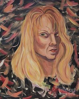 Self Portrait by Suzanne  Marie Leclair