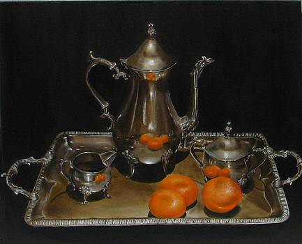 15 Oranges by Sherry Robinson