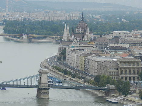Budapest by Irina Zelichenko