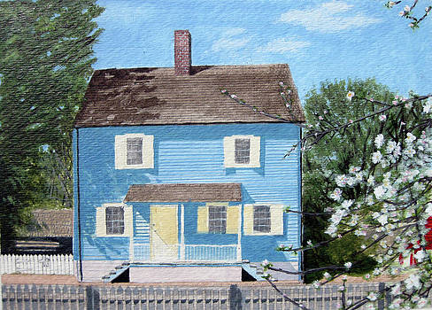 1825 Historical Old Salem CHRISTMAN HOUSE by Jason Zhang