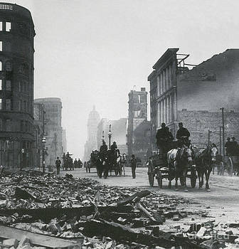 Science Source - 1906 San Francisco Earthquake