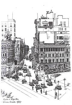 1928 Sparks and Elgin Sts.Ottawa by John Cullen