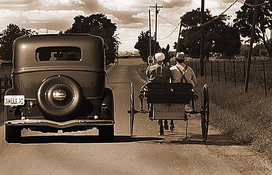 Randall Branham - 1934 Chevy and today