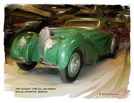 RG McMahon - 1939 Bugatti 57c Van Vooren