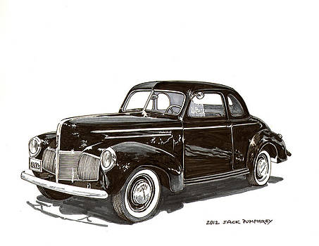 Jack Pumphrey - 1940 Studebaker Business Coupe