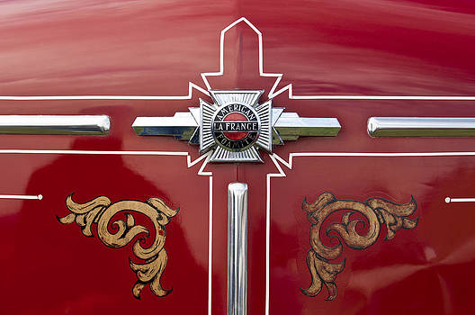 Jill Reger - 1948 American LeFrance Fire Truck Emblem