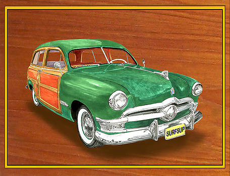 Jack Pumphrey - 1950 Ford Country Squire Woody