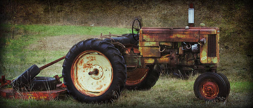 1950 Tractor by Lisa Moore