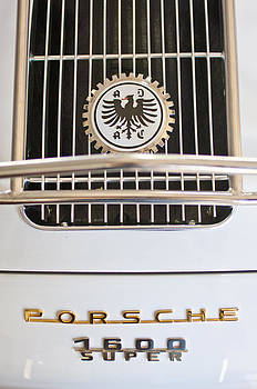 Jill Reger - 1956 Porsche 1600 Super Emblem