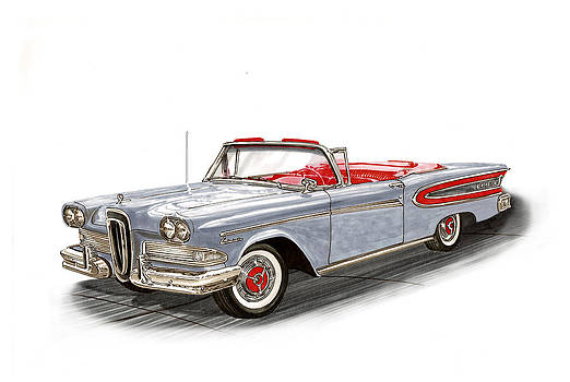 Jack Pumphrey - 1958 Edsel Citation Convertible