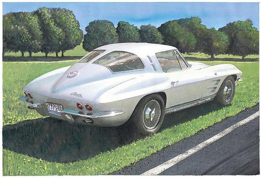 1963 Split Window Corvette by Rod Seel