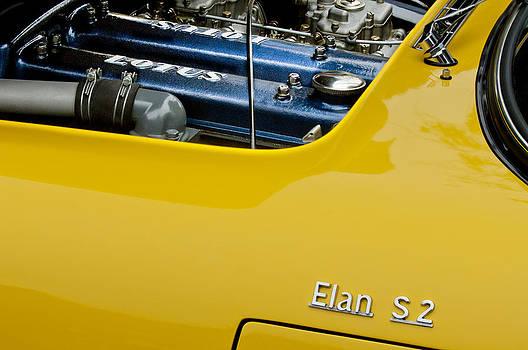 Jill Reger - 1965 Lotus Elan S2 Engine